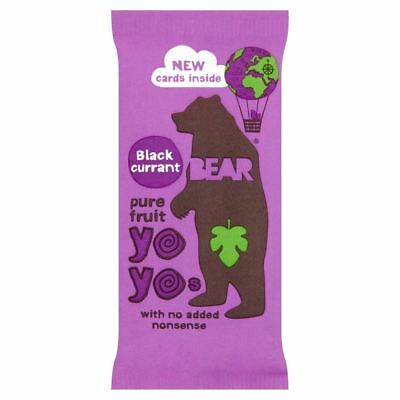 Bear Pure Fruit Yo Yos Blackcurrant (20g) (Pack of 2)