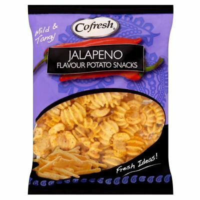 Cofresh Jalapeno Flavour Potato Snacks (90g) (Pack of 2)
