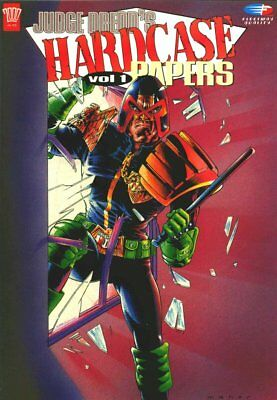 2000AD ft JUDGE DREDD - DREDD'S HARDCASE PAPERS - ALL VOLs - EXCELLENT CONDITION