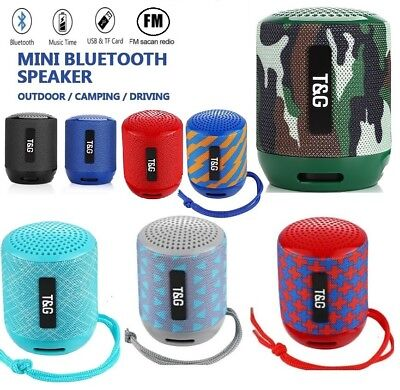 Portable Bluetooth Speaker Outdoor Wireless Loud Bass FM Radio MP3 Player TF USB