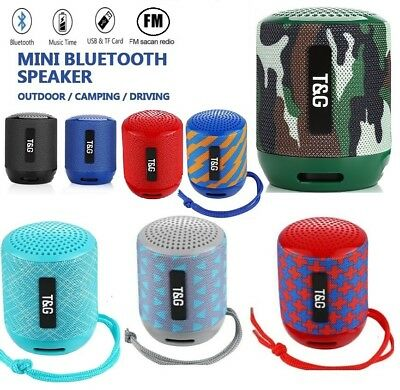 Portable Bluetooth Speaker Waterproof Outdoor Wireless Shower Bass FM Radio gift