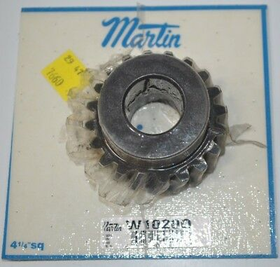 "NEW Martin Gear W1020Q Worm Gear 2.224"" OD - 10 Pitch - 20 Teeth"