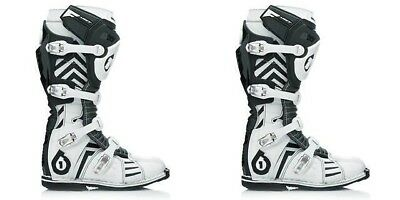SixSixOne 661 Adult Flight Chevron Boots MX ATV Motocross Enduro 6750-00