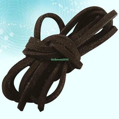 Necklace Leather Cord Dark Coffee Suede Thong Lace Rope Thread String For Craft