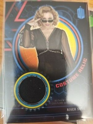 2016 Doctor Who Extraterrestrial Encounters River Song Costume Relic 57/99