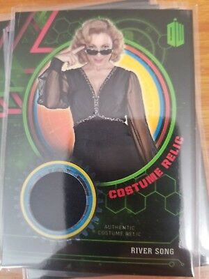 2016 Doctor Who Extraterrestrial Encounters River Song Costume Relic /499