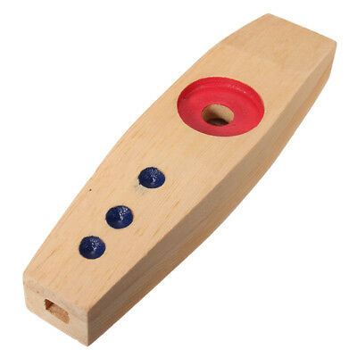 NEW FUN FACTORY Childrens Musical Instrument Music Wooden KAZOO in blister pack