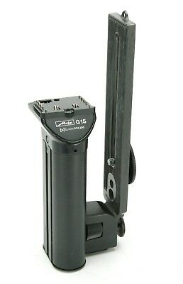 Metz Power Grip & Bracket G15 For Four Any SCA 300 Flashes. 4 Size C Batteries.