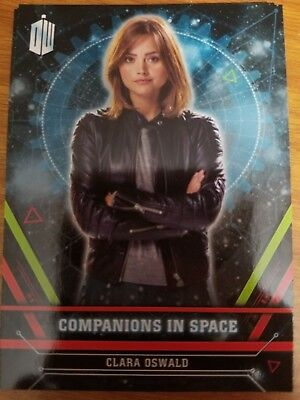 2016 Doctor Who Extraterrestrial Encounters Companions in Space #1 Clara Oswald