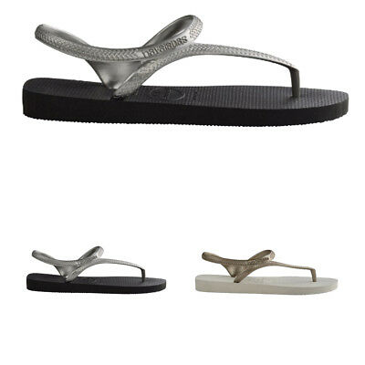 ab4a8dd9566c LADIES HAVAIANAS FLASH Urban Ankle Strap Holiday Toe Post Flip Flops All  Sizes -  26.02