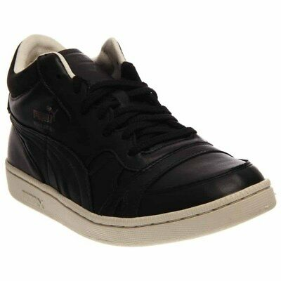 PUMA BECKER OG Leather Tennis Shoes - Black - Mens -  44.95  27a70f53c