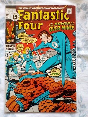 Fantastic Four 115 (1971) 1st app and Origin of the Eternals [7.0]