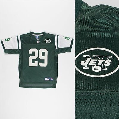 wholesale dealer bdeae ee55f KIDS BOYS YOUTHS Nfl Shirt New York Jets Jersey Reebok American Football 14  Yrs