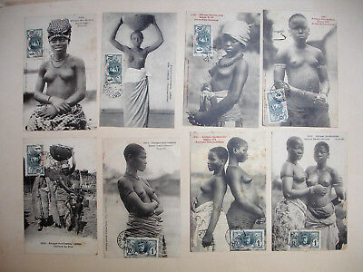 8 Cartes Postales-Afrique Occidentale-Sénégal-Dahomey-1911--  (1)