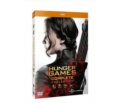 Film DVD UNIVERSAL PICTURES - Hunger Games - Complete Collection (4 Dvd)