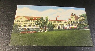 Old Postcard<PLYMOUTH, NEW HAMPSHIRE>{THE PEMI HOUSE--1955}