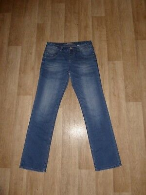 S.OLIVER STRAIGHT Jeans Blau Gr.38 L32 **TOP**