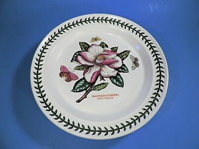 Set Of 2 PORTMEIRION BOTANIC GARDEN DINNER PLATES (MINT)