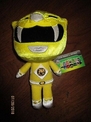 "IN STOCK Funko Power Rangers Yellow Ranger Plush 8/"" New with Tags"