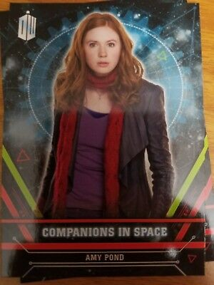 2016 Doctor Who Extraterrestrial Encounters Companions in Space #11 Amy Pond