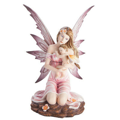 Fairy Figurine - Mother Nienna with Baby