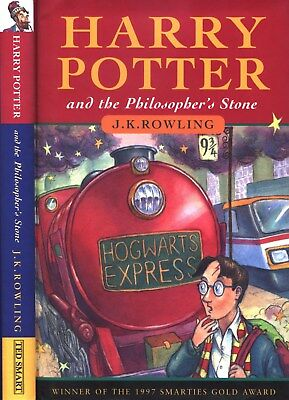 Harry Potter and the Philosopher's Stone J.K. Rowling HC Ted Smart UK 3rd