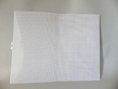 PLASTIC MESH CANVAS 7 COUNT FOR BAG BASES CROSS STITCH FABRIC CRAFTS 34 x 26.6cm