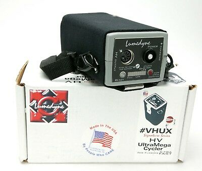 Lumedyne # VHUX Signature Series HV UltraMega Cycler For Flashes X-TRA FAST.