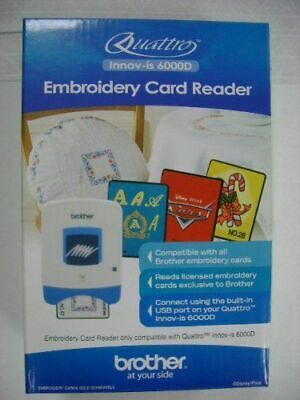 BrotherSAECR1 Embroidery Machine Card Reader New