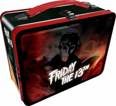 Friday the 13th 3D Embossed Tin Lunch Box