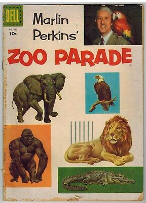 Marlin Perkin's Zoo Parade Four Color #662 1955 Golden Age!