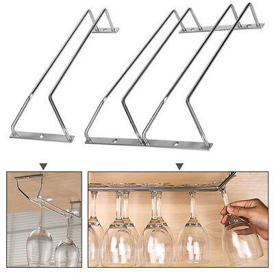 1Pc Wine Glass Rack Wine Glass Hanging Rack Wire Wine Glass Hanger Rack 34cm GW