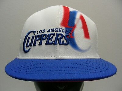 b7afe987ada LOS ANGELES CLIPPERS Adidas Center Court Stretch Fit hat L XL White ...