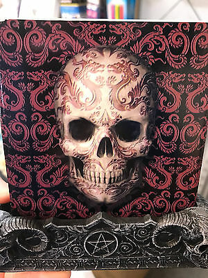 ANNE STOKES ORIENTAL Skull Candle Holder Home Decor Gift