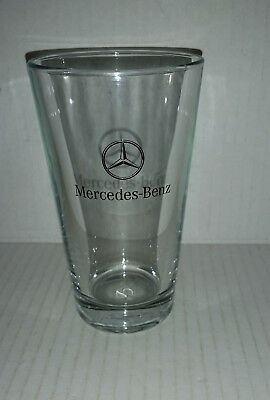 Mercedes Benz collectable drinking glass almost 13 cm high