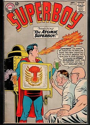 Superboy #115 GD/VG 3.0 DC Classic Silver Age 1964!!!