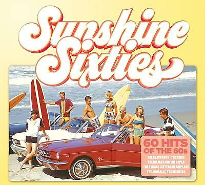 SUNSHINE SIXTIES (Various Artists) (Best Of The 60s) 3 CD SET (2018)