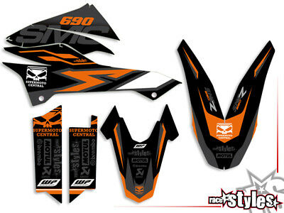 KTM 690 SMC / R, ENDURO (08-17) | fully BRAAAP! DEKOR DECALS grafiche graphique