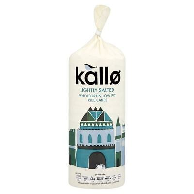 Kallo Low Fat Rice Cakes (130g) (Pack of 2)