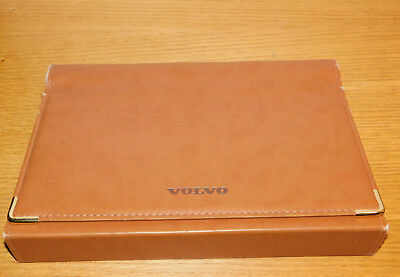 vintage VOLVO porte document SACOCHE housse de VOITURE POCHETTE car bag BOX SAC