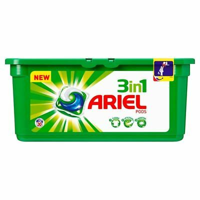 Ariel 3In1 Pods Regular - 30 Washes (30 per pack) (Pack of 2)