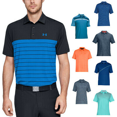 Under Armour Mens UA Playoff Performance Golf Polo Shirt 40% OFF RRP