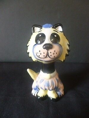 """Lorna Bailey Collectors Hand Painted Signed Cat """"muppet"""" Brand New Unused"""
