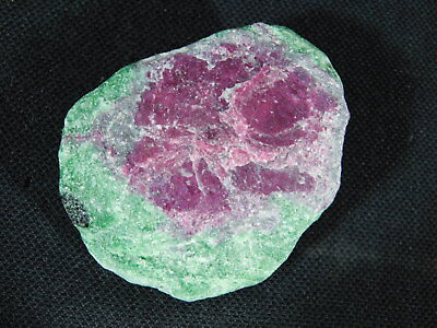 A 100% Natural Red RUBY Crystal In A Light Green Zoisite Matrix! Tanzania 105gr