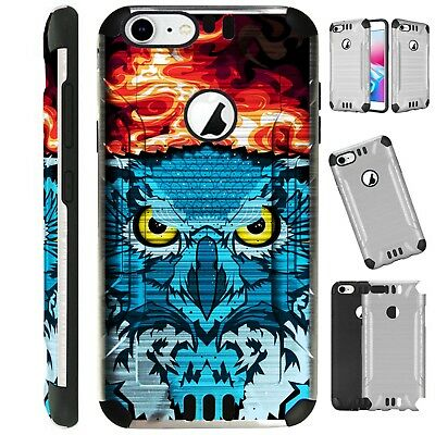 SILVER GUARD For iPhone / Samsung Galaxy Phone Case Cover FLAMING OWL