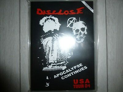 Disclose:West Coast Chainsaw Tour 2004 BRAND NEW DVD, Framtid, G.A.T.E.S.