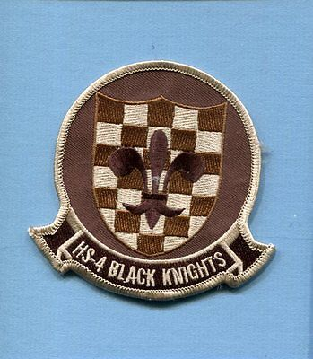 HS-4 BLACK KNIGHTS US NAVY SIKORSKY SH-60 Helicopter Squadron Desert Patch