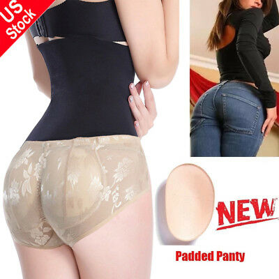 FAKE ASS Women Butt and Hip Enhancer Booty Padded Underwear Panties Body Shaper