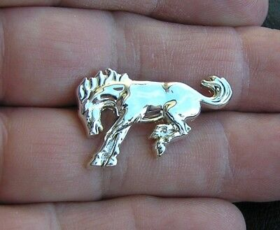 BRONCO HORSE LAPEL PIN Badge *NEW* Suit Hat Ford F 100 250 350 Owner