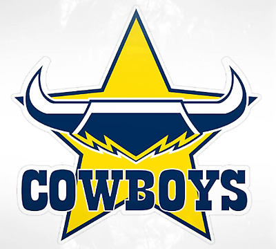 North Queensland Cowboys NRL Supersized Mega Team Car Logo Sticker